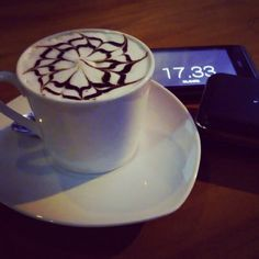 Hot Latte By Asisa Coffe