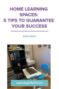 Back to school looks a little different this year. Make sure your home learning spaces make learning productive and fun with these 5 tips and inspirational examples!