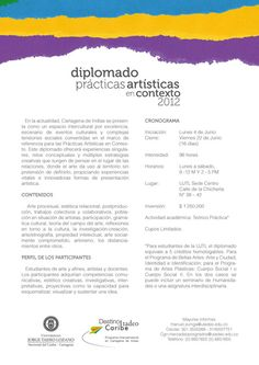 """Diplomado """"Prácticas Artísticas en Contexto 2012"""", en la Tadeo, Seccional Cartagena."""