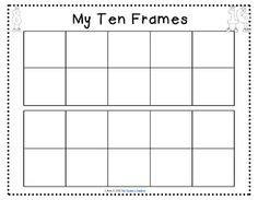 10 frame template ukrandiffusion math freebie print this double 10 frame template to help your maxwellsz