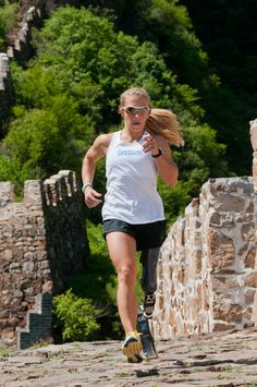 Sarah Reinertsen proves that you can overcome your limitations ♥