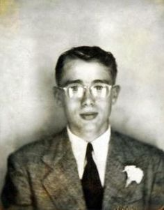 18-year-old James Dean in a photo booth, 1949...before being so cool.