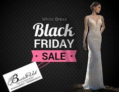 ONECE IN THE YEAR🛍🎊🎁🎉  ‼️ Black Friday –WHITE DRESS. 👰🏻 Amazing offers 😳on wedding dresses, bridal veils, evening dresses, and accessories.  Ready to SAVE up to 15% ?? Visit us on 25th - 26th of November, 12pm to 9 pm.  And our CRAZY OFFER …….2 dresses = 25% discount   Share with brides looking for a great deal on their wedding dress.    Please note  ‼️ – this promotions valid for new reservations only                               -down payments are non-refundable  Call us to book…