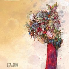 Lisa, Watercolor Tattoo, Manga, Illustration, Artwork, Inspiration, Instagram, Psychology, Poems