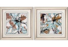 Shop for a Free Flow Artwork Set of 2 Framed at Rooms To Go. Find Wall Decor that will look great in your home and complement the rest of your furniture.