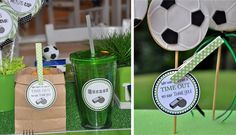 """Photo 1 of Soccer Party /Football / Birthday """" Soccer Birthday Party"""" Soccer Birthday Parties, Football Birthday, Soccer Party, Sports Party, Birthday Fun, Birthday Party Themes, Soccer Treats, Soccer Coach Gifts, Soccer Theme"""