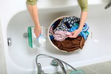 Nettoyage a la main