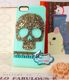Skull iPhone Case .. if I ever get an iPhone.