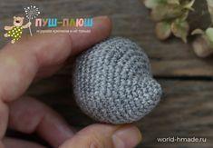 Вязаная крючком мышка Василиса [мышкомания 2020]. Мастер-класс по вязанию игрушки. Crochet Mouse, Amigurumi, Crochet Mickey Mouse