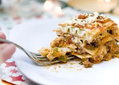 Gluten Free & Dairy Free Lasagna. I made mine and it was great, without the meat of course. I use tofu for the ricotta. yummy