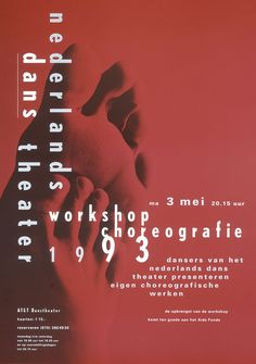 11 best posters ndt dutch dance theatre season 1992 1993 images on poster 11 malvernweather Gallery