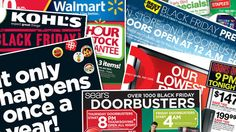BLACK FRIDAY - get yourself ready! Photo illustration of this year's Black Friday ads.