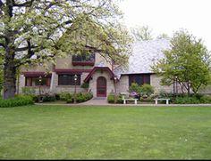 The Grove Redfield Estate in Glenview, Illinois...