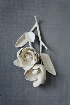 porcelain flowers | giselle hicks