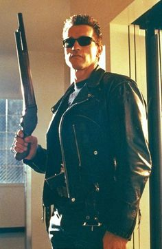 Arnold Schwarzenegger - Terminator 2 judgement day.