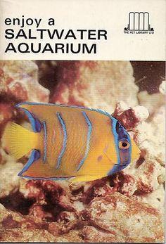 Enjoy A Saltwater Aquarium - 1st edition - June 1966