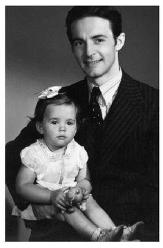 Natalie and her Father, Nicholas...precious