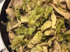 Chicken and Cabbage Saute