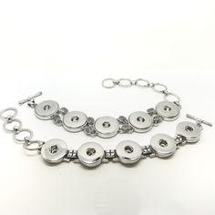 5 Snap Charm Bracelets. £8.50 & £9.50