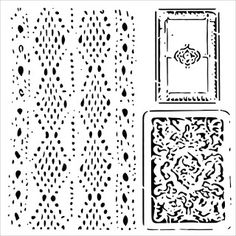 The Crafters Workshop - 6 x 6 Doodling Templates - Mini Cards and Lace First Blog Post, Short Break, Stippling, Beautiful Words, Paper Art, Stencils, Mixed Media, Card Making, Workshop