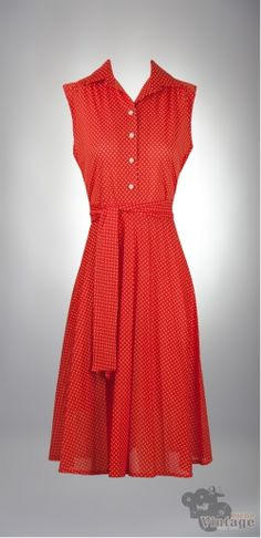 Vintage 70´s Orange Indie Dress Size M - Bichovintage - Vintage & Retro & Recycled - Clothing and Accesories - Online Store