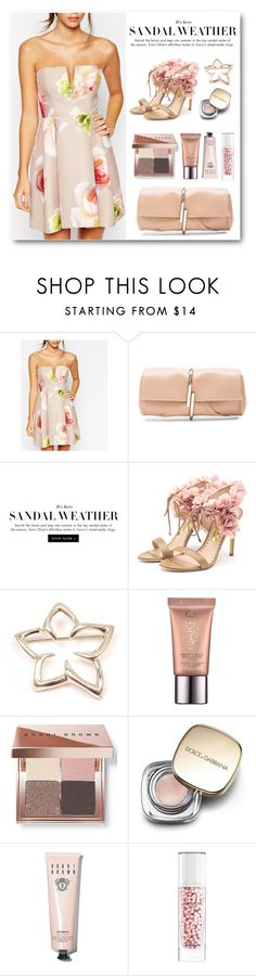 """Sandal Weather"" by groove-muffin ❤ liked on Polyvore featuring ASOS, 3.1 Phillip Lim, Rupert Sanderson, Tiffany & Co., Urban Decay, Bobbi Brown Cosmetics, Dolce&Gabbana and Guerlain"