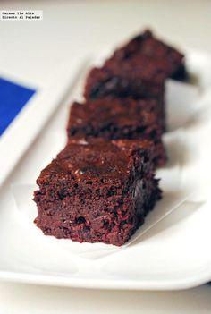 Brownie de remolacha, posiblemente el mejor brownie del mundo mundial. Receta