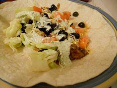 Shredded Pork Tacos w/Homemade Tomatillo Sauce