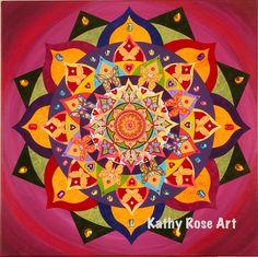 Metamorphosis - 4 x 4 Tile by KathyRoseArt on Etsy https://www.etsy.com/listing/154137549/metamorphosis-4-x-4-tile
