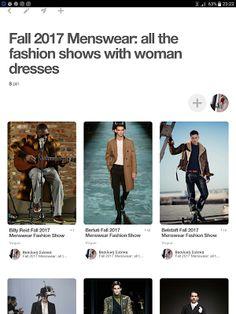 ΕΝΔΥΘΙ: Fall 2017, Menswear: all the fashion shows with wo...