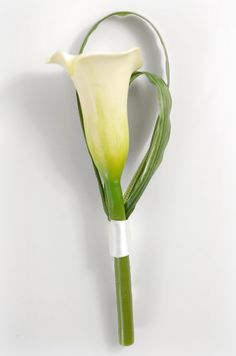 Calla Lily Boutonnieres Buttonholes $4 each / 3 for $3 each