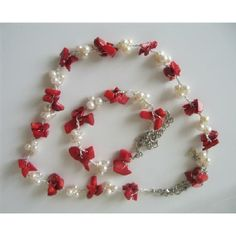 coral chip jewelry - Google Search