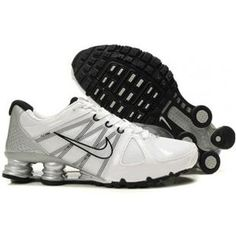 3cc35ff6cbe0 www.asneakers4u.com 438684 006 Nike Shox Agent White Black J01006 Nike Shox  Shoes