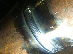 TIG welding - Walking the Cup - Beaut! Welding Trucks, Welding Rigs, Welding Art, Welding Ideas, Flux Core Welding, Auto Darkening Welding Helmet, Welding Crafts, Welding And Fabrication, Welding Process