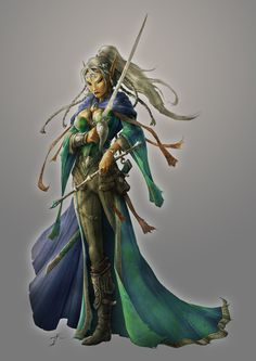http://th02.deviantart.net/fs71/PRE/i/2012/342/9/0/elindria_the_enchantress_by_jasonengle-d5net8g.jpg #elf #magus