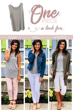 11 Pieces to Pick Up to Wear All Year – Just Posted Fall Transition Outfits 03599dd88