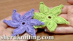 How To Crochet Flower Thick Petals Tutorial 45