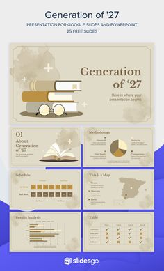 Generation of '27 | Template for Google Slides and PowerPoint