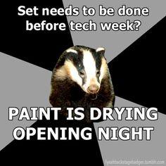 oh tech week...
