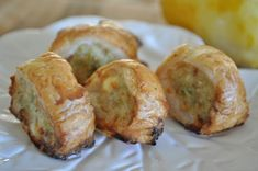 Chicken and feta sausage rolls – make ahead freezable party food #mustache bash