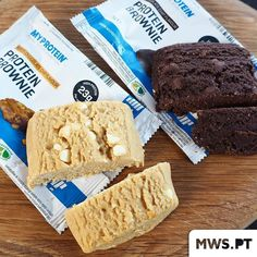 Protein Brownies  #MyWheyStore  www.mws.pt