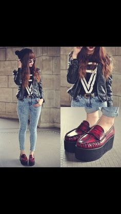 Those creepers are amazing! Love the whole look.