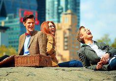 Matt Smith, Karen Gillan, Arthur Darvill