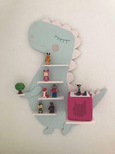 Anleitung für ein Musikboxregal (Toniebox & Tigerbox) - günstig und leicht zu machen - Mamaskind.de Diy For Girls, Woodworking, Organization, Kids, Home Decor, Quartos, Nursery Set Up, Crafting, Box Shelves