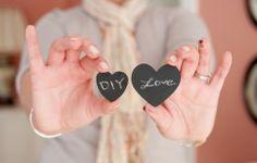 Lousa e Giz na decoração do casamento