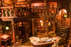 Miniature Library by JuniorMonkey, via Flickr