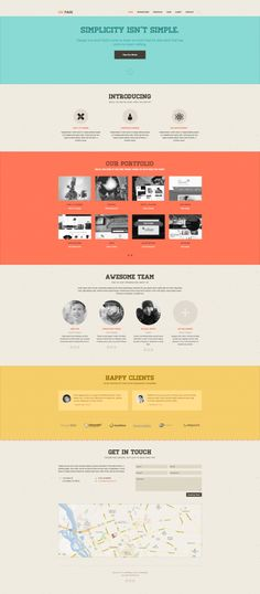 DW #Responsive One Page Retro ~~ Good news for those who have been looking for a great looking design, simple to setup, and straight forward website, DW Page is your perfect fit. It's an all-in-one solution powered by #Bootstrap & LESS, comes with beautiful responsive design and built-…