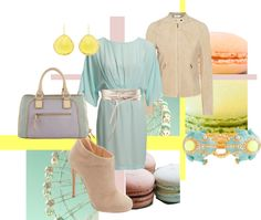 """Soft Shades of Macarons"" by arletty on Polyvore"