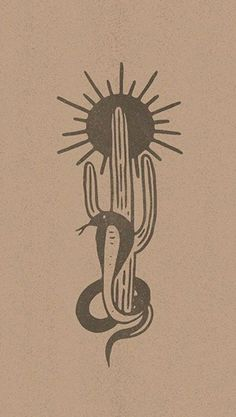 This but with horse and diamonds. Definitely more complex/hand-drawn, but the stacking of shapes is cool and I like the sun over the cactus as an image. Tattoo Sketches, Art Sketches, Art Drawings, Tatuagem Old School, 1 Tattoo, Desenho Tattoo, Western Art, Art Inspo, Printmaking