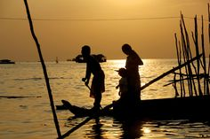 TONLE SAP LAKE IN CAMBODIA by Leslie  Taylor